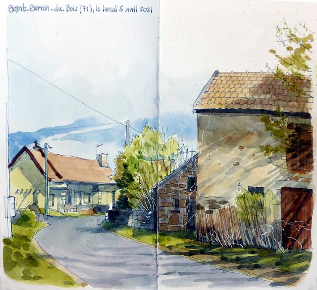 Saint-Sernin-du-Bois (71)