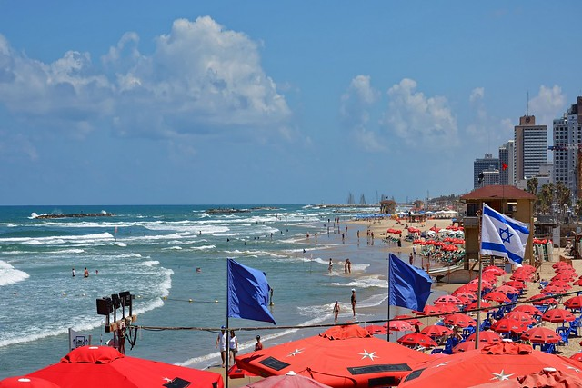 Tel-Aviv-Jaffa /  Aviv Beach - Banana Beach