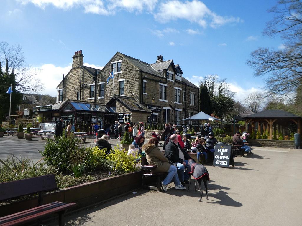 The Riverside pub, Ilkley