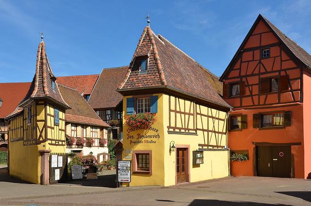 Eguisheim (Haut-Rhin) - Ancienne cour colongère d'Unterlinden (XVIe-XVIIe-XVIIIe) (explore 07-04-21)