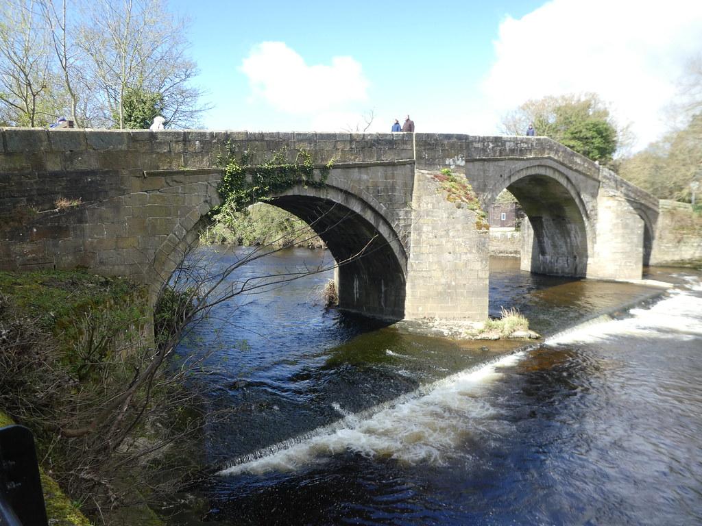 Old packhorse bridge, Ilkley