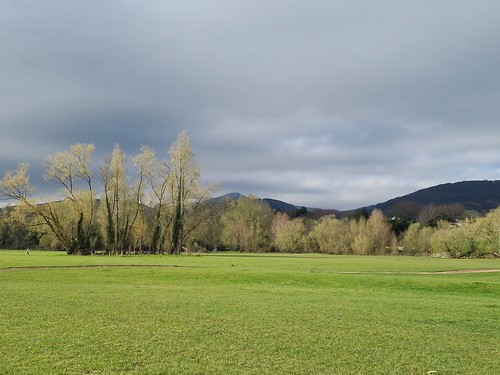 Sugarloaf Mountain from Castle Meadows,  Abergavenny. (threejumps)
