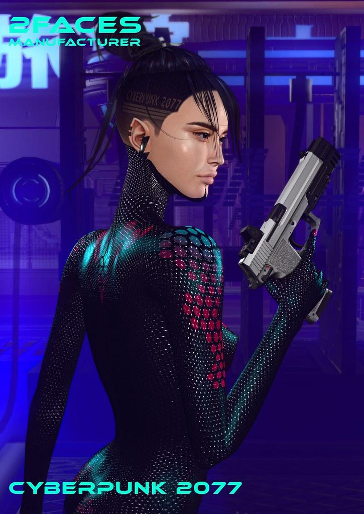 2faces manufacturer - hairbase - cyberpunk 2077