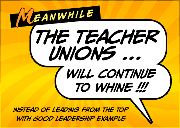 Teacher Unions WHINE