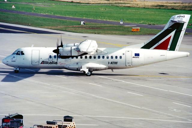 Alitalia Express   ATR 42-300   I-ATRF   Zurich Kloten