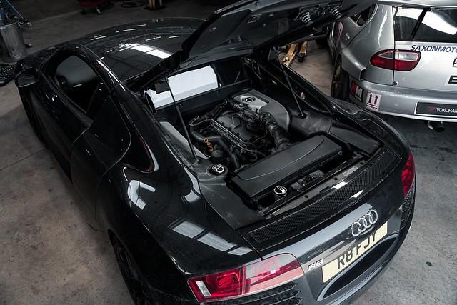 Audi R8 April Fools