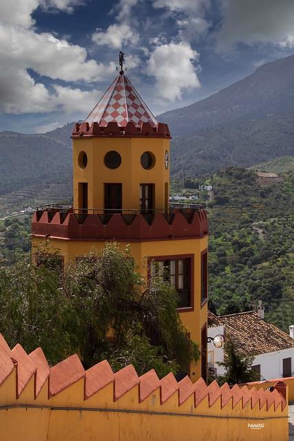 Torreón de la Casa de Trinidad Grund Heredia