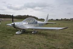 G-OTYE Evektor EV-97 [PFA 315-13858] Popham 050512