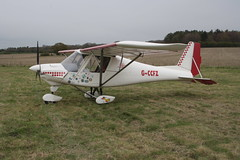 G-CCFZ Comco Ikarus C-42 [PFA 322-14040] Popham 050512