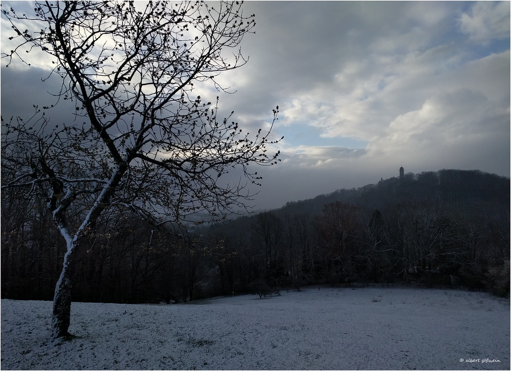 Winter im April