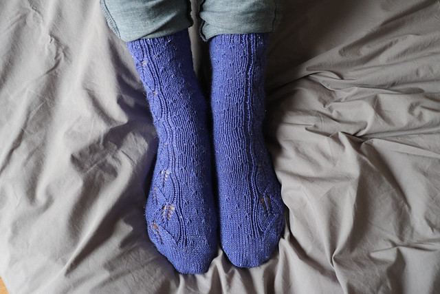 Leaf Danse Socks