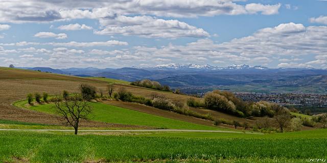 Un jour de printemps en Auvergne