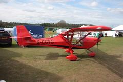 G-CGYG Aeropro Eurofox 3eK [LAA 376-15081] Popham 050512