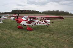 G-BZAR Denney Kitfox [PFA 172B-12529] Popham 050512