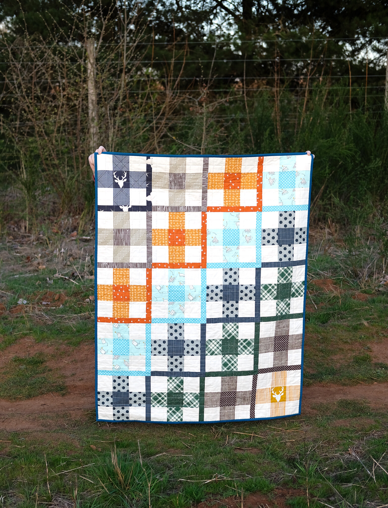 The Taylor Quilt Pattern - Baby Version