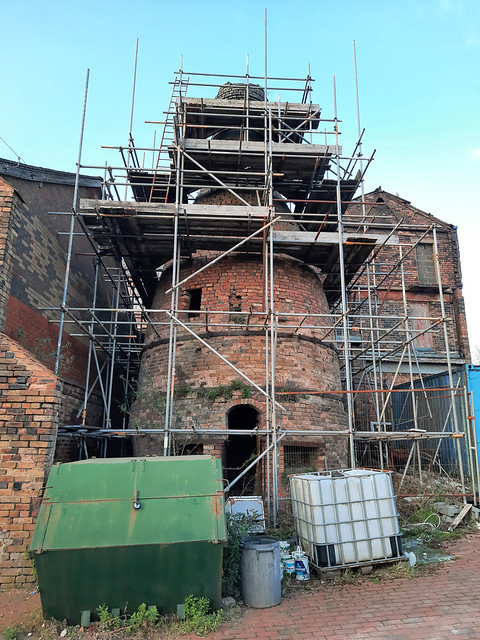 Derelict Pottery Kiln Repairs (2)