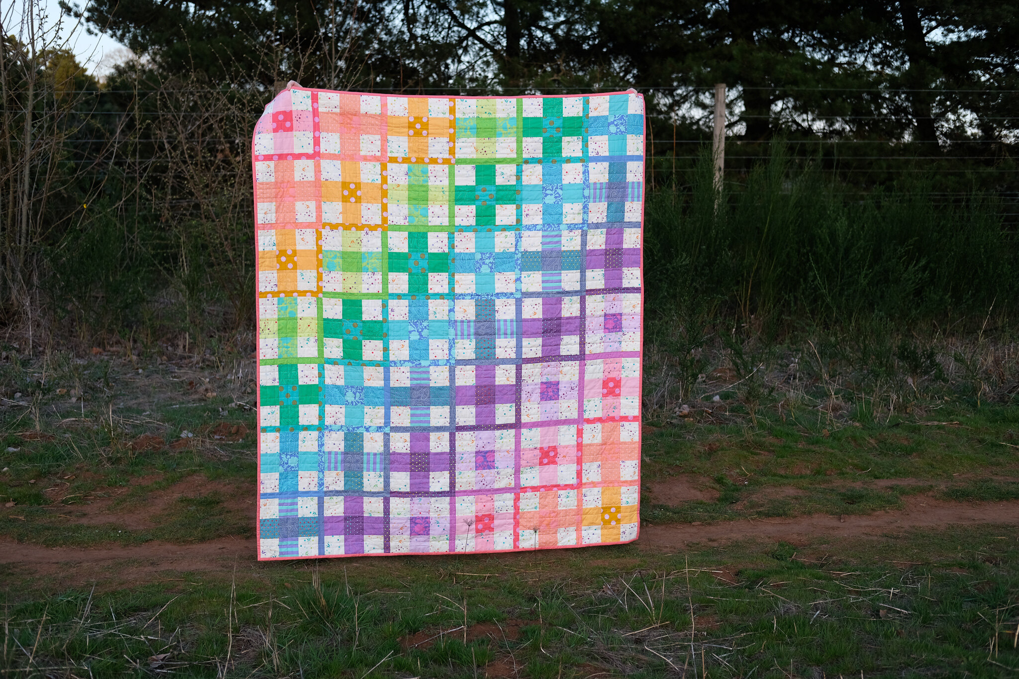 The Taylor Quilt Pattern - Tula Pink Version