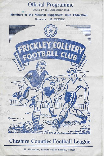 Frickley Colliery v Macclesfield Town  - 1962/63 | by MaccProgs