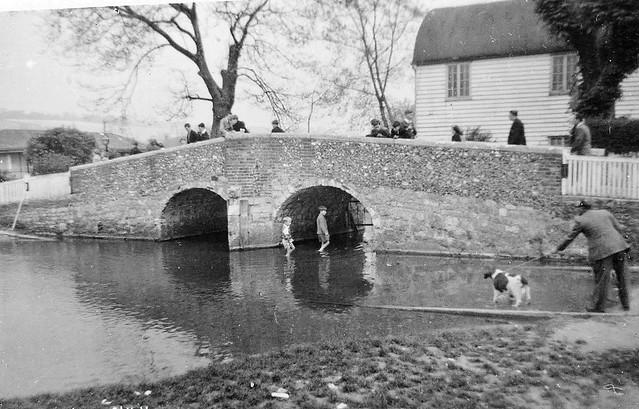 Bridge over the River Darent, at Eynsford, Kent