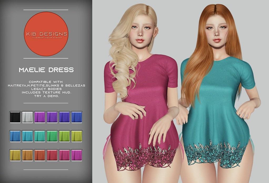 KiB Designs – Maelie Dress @Pretty Event 7th April