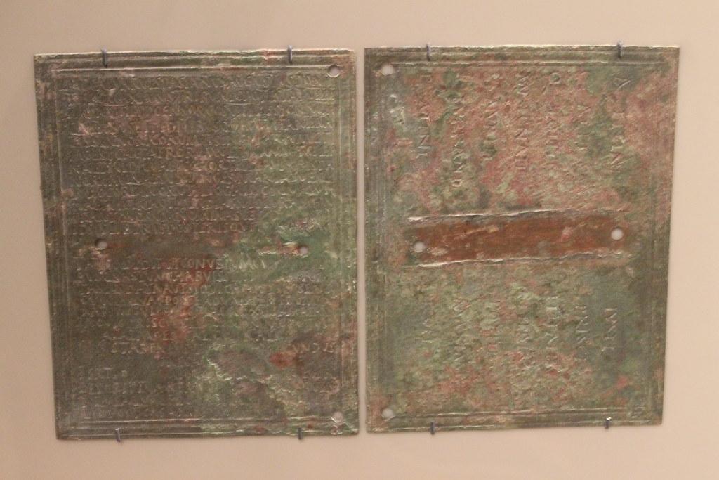 Military Diploma for the cavalryman Tertius