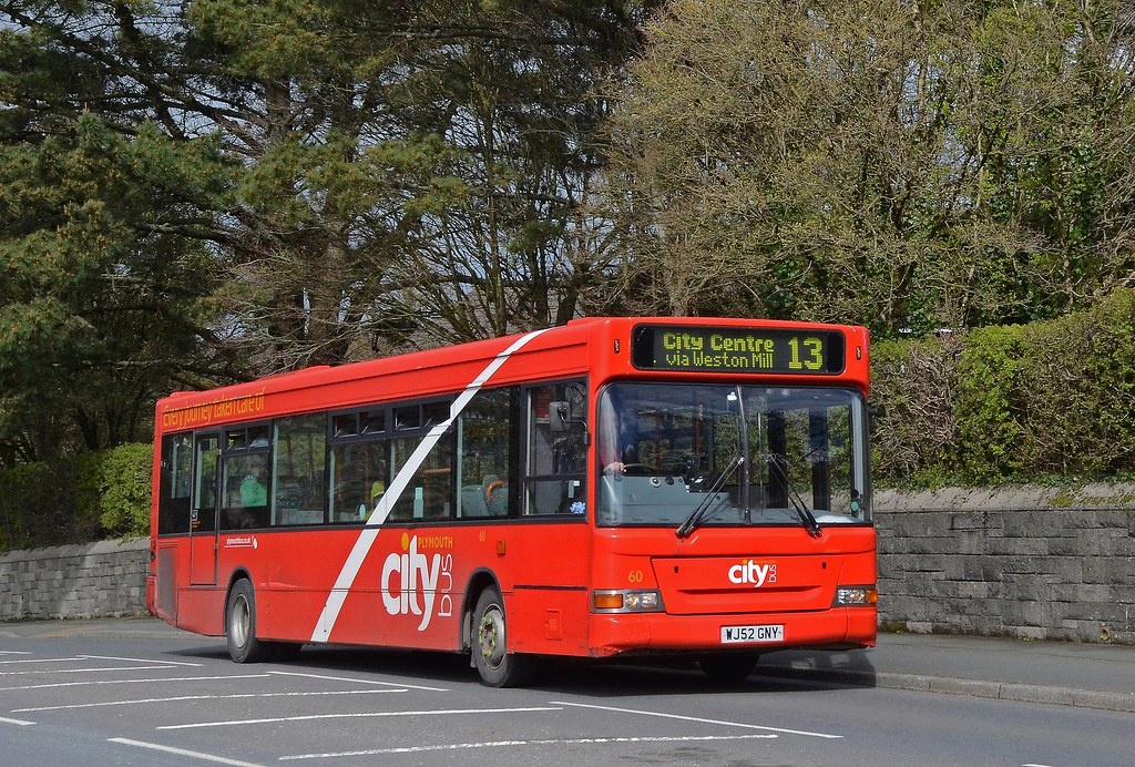 Plymouth Citybus 60