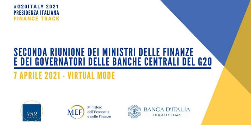 Seconda riunione dei Ministri delle Finanze e dei Governatori delle Banche Centrali G20 a Presidenza italiana