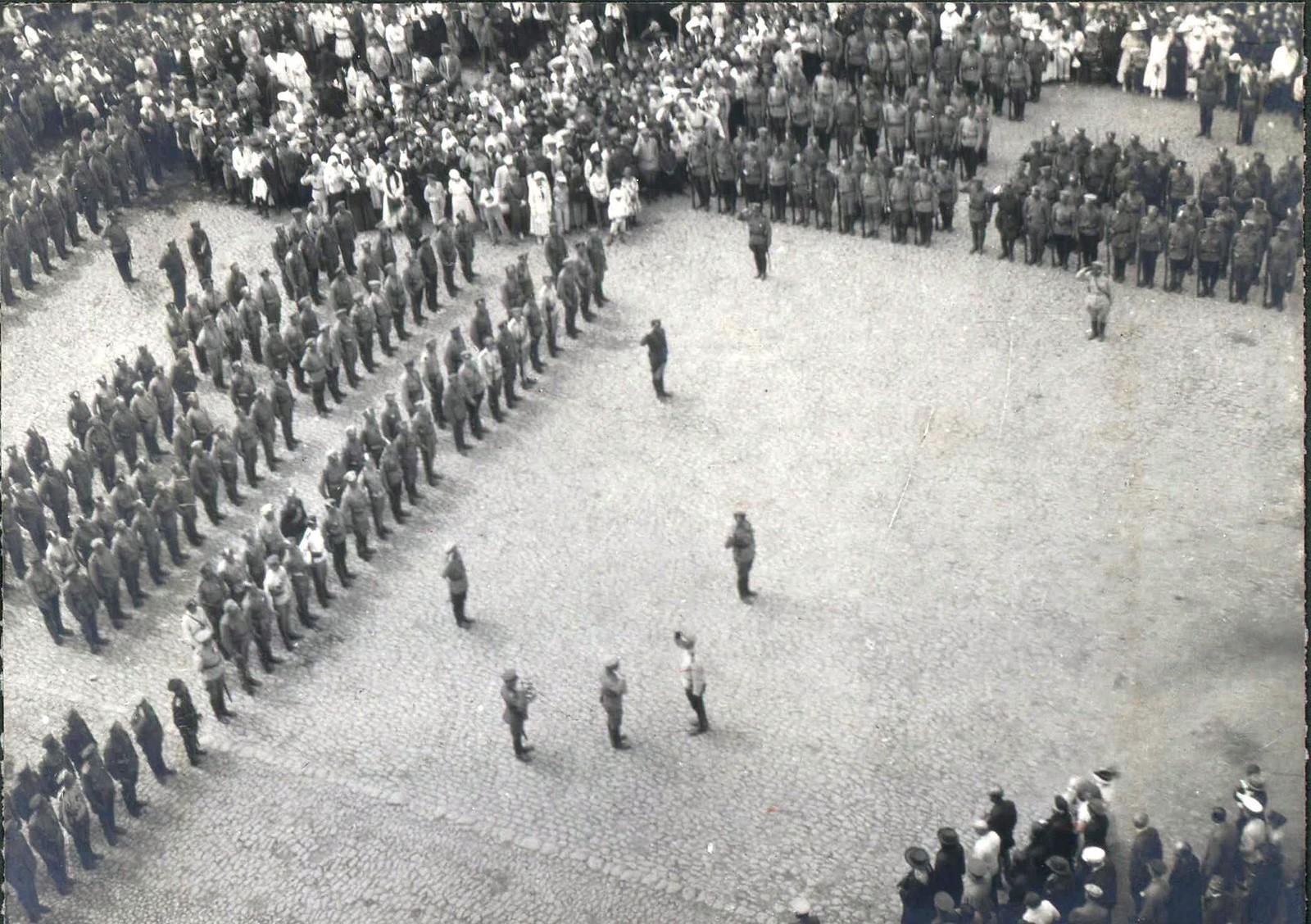 178. 1919. Военный парад в Харькове