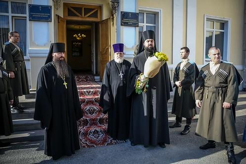 06 апреля 2021, Митрополит Кирилл совершил всенощное бдение в канун праздника Благовещения Пресвятой Богородицы