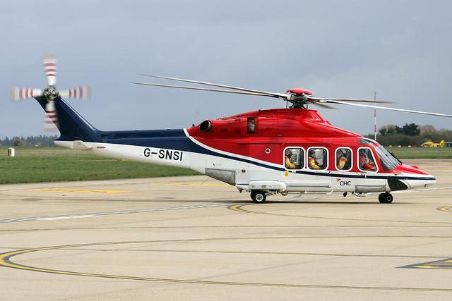G-SNSI  -  AgustaWestland AW139 c/n 31479  -  EGSH 6/4/21