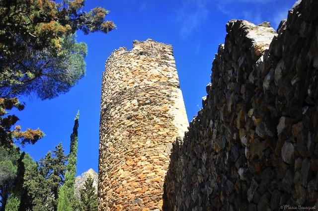 Partie des fortifications de Castelnou