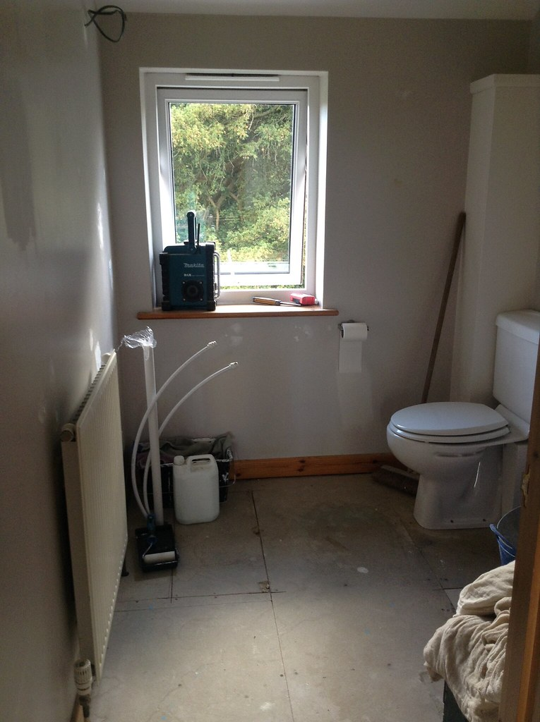 Bathroom Refurb In Progress - End of Day 1