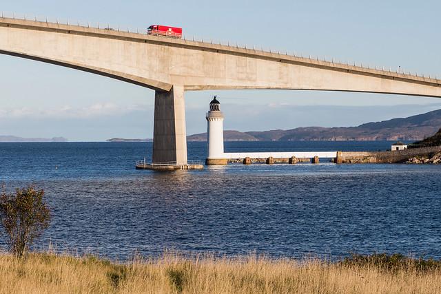 Skye Bridge from Kyleakin, Scotland