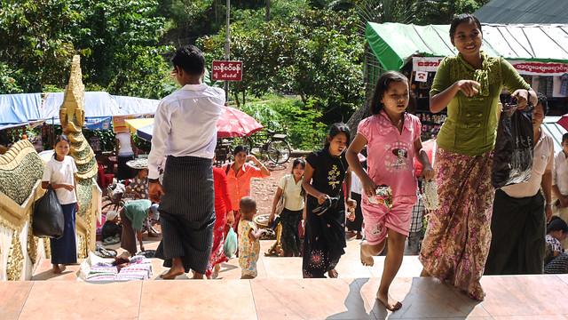 À Yangon.
