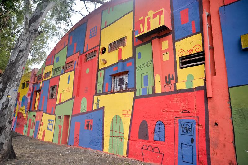 Primer corredor de arte urbano a cielo abierto en la Costanera