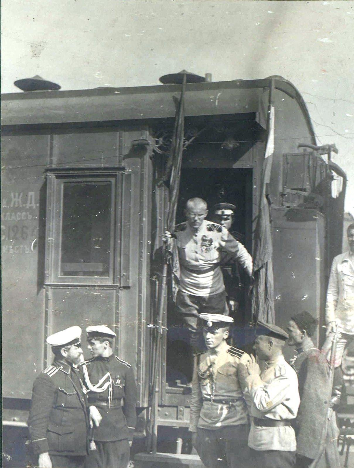 193. Штаб 1-й пехотной дивизии. Генерал-лейтенант Н.С. Тимановский, август. Белгород