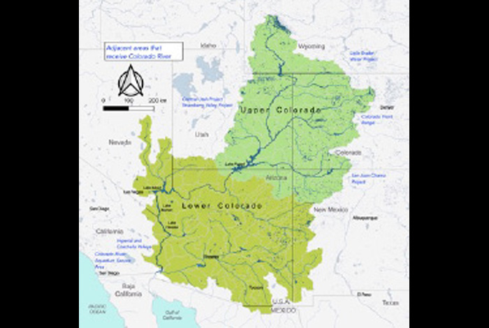 Extreme hydrological/climatological events across the Colorado River basin should be studied together, not in isolation, to get a clearer picture of their devastating impacts in years to come.