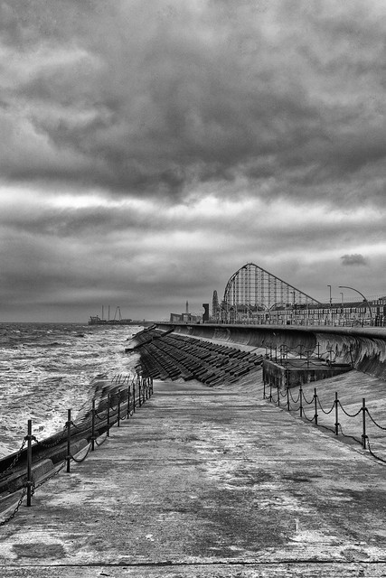 New South Promenade, Blackpool 04-04-21
