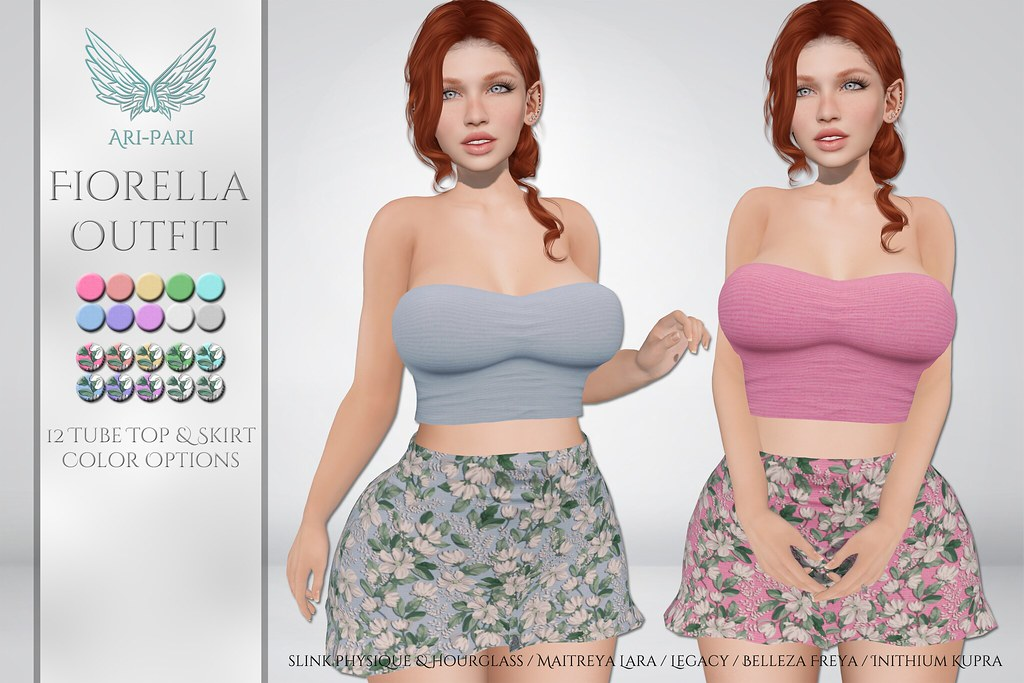 [Ari-Pari] Fiorella Outfit