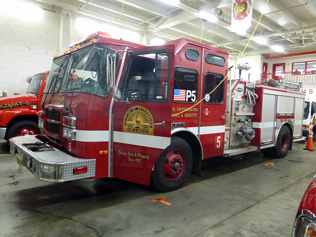St Petersburg Fire and Rescue P5