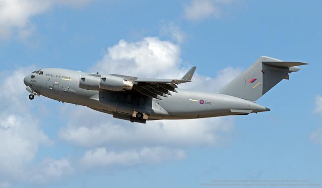 ZZ175 06-04-2021 United Kingdom - Royal Air Force (RAF) Boeing C-17A Globemaster III cn UK5F185