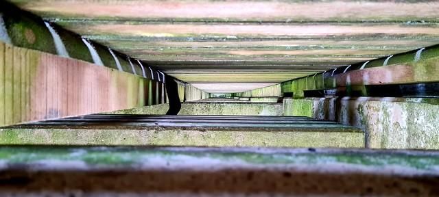 Unter der Seebrücke von Haffkrug