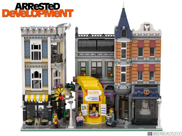 LEGO Banana Stand [4]