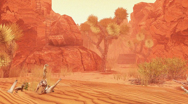 Desert Canyon - II