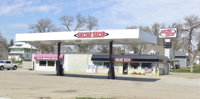 Short Stop gas station, formerly G's Quick Stop, Wayne