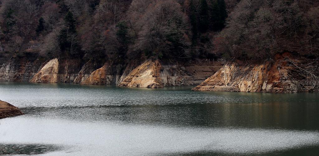 drying dam :Miyagaseko, Kanagawa, Japan