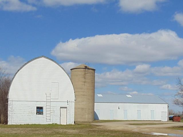little white barn