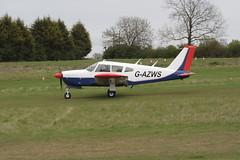 G-AZWS Piper PA-28R-180 [28R-30749] Popham 050512
