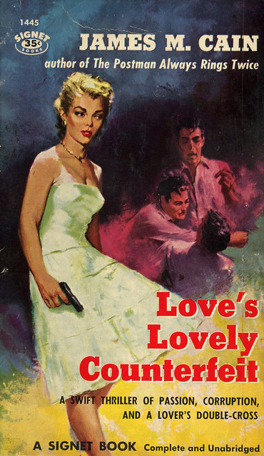 Signet Books 1445 - James M. Cain - Love's Lovely Counterfeit