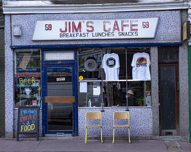 Jim's Cafe, Homerton
